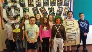 Gaelscoil Longfoirt celebrate Roald Dahl's 100th birthday