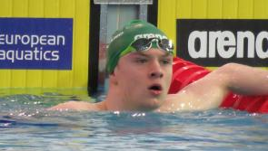 Gold medal and yet another Irish Junior record for Longford swimmer Gerry Quinn