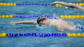 A hat trick of records for Longford swimmer Gerry Quinn at Swim Ireland National Short Course Championships in Lisburn