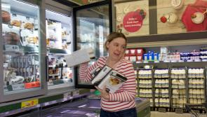 Fiona McVeigh grabs €281 worth of Christmas goodies in Longford Lidl trolley dash