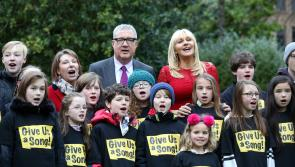 Appeal from celebs: C'mon Longford give us a song for cancer research #giveusasong