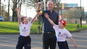 Paul O'Connell launches Aldi's sponsorship of Community Games in its Golden Jubilee year
