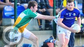 Robbie Smyth fires over seven points in Longford's vital win over Offaly