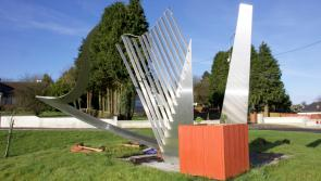 Harp sculpture in Granard destroyed after crash