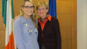 Mairead McGuinness MEP commends Longford teacher on Blue Star Programme