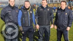Longford in league action at home against Armagh