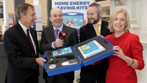 Minister Denis Naughten announces expansion of Home Energy Saving Kits