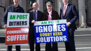Longford postmasters protest at GPO to resist Post Office closures