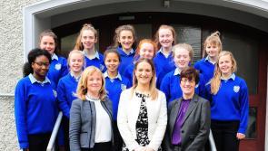 VIDEO: Minister Helen McEntee visits Longford school