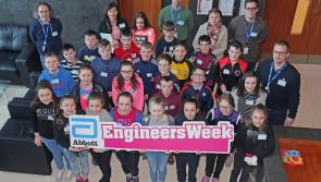 Abbott Longford volunteers bring engineering to life for hundreds of students