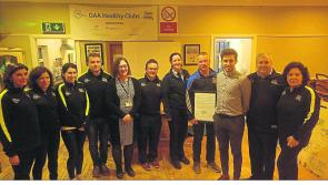 Dromard GAA goes smoke free
