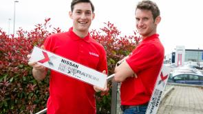 Nissan seeking Longford 'Generation Next' car ambassadors to rival O'Donovan brothers
