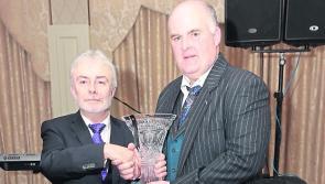 Joe Flaherty honoured as Longford Person of the Year