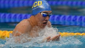 Longford swimmers Darragh Greene and Gerry Quinn in the medals at Irish Open Championships