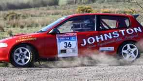 Highlights of Midland Moto Stages Rally in Longford to be screened on TG4