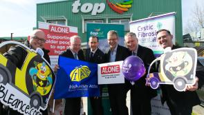 Top Oil announces charity partners and appeals for Longford support