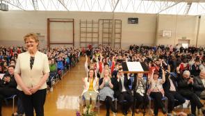 Moyne Community School bids fond farewell to Bridie