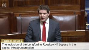 Longford Westmeath TD Peter Burke raises N4 upgrade in Dáil
