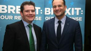 Varadkar promotes Longford/Westmeath Fine Gael TD