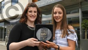 Another Award for Longford's Michelle Farrell - winner of the LGFA Player of the Month for April