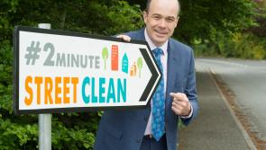 Minister Denis Naughten praises Longford National Spring Clean volunteers