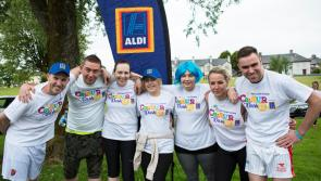 Aldi's Longford Town store team provides a dash of colour in support of Ireland's cancer patients