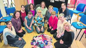 Volunteers stitching up the 'wow' factor