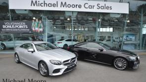 Michael Moore to host 172 Mercedes-Benz test drive event