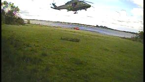 RNLI and air ambulance respond to medical emergency on island in Lough Ree