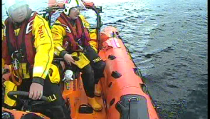Video: Lough Ree RNLI assist six people aboard two grounded cruisers during one call out
