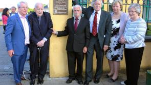 Plaque unveiled to commemorate the life and times of Longford doctor, Dr Mary Farrell
