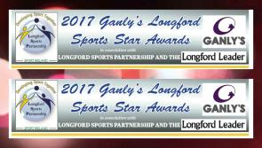 Voting in Ganly's Longford Sports Star Awards begins tonight