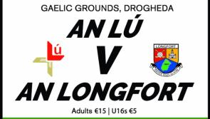 GAA COMPETITION: Win tickets to see Louth v Longford in Drogheda