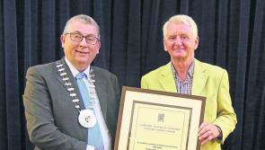 Civic honour bestowed on Matt Farrell