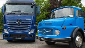 Mercedes-Benz commercials celebrating fifty years in Ireland
