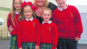 Yvonne bids farewell to Gaelscoil Longfoirt