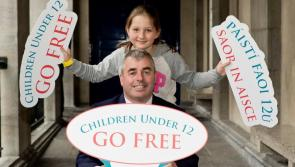 Minister Kevin 'Boxer' Moran announces free admission for children under 12 to OPW Heritage Sites from today