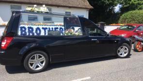 Emotional scenes in Newtowncashel as Andrew Rowan is laid to rest