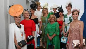 Roscommon Races: Corinna Hynes wins SuperValu Best Dressed Lady at Roscommon