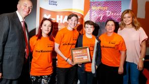 Longford's Attic House Teen Project takes prize home from Irish Cancer Society X-HALE Youth Awards