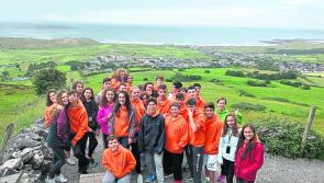 Madrid to Moyne: Teenagers from Spain have arrived in Moyne for four week's of camp