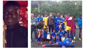 LATEST: Attic House in Longford pays poignant tribute to drowning victim Damola Adetosoye, 'a champion in heaven'