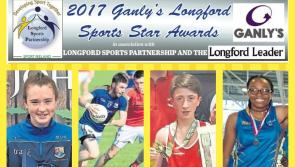 GET VOTING: Four shortlisted for Ganly's Longford Sports Star of the Month Award for June