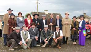 Ballinalee commemoration ceremony for Thomas Ashe