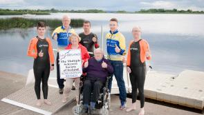 Lanesboro Triathlon Club sponsored swim for Longford and Roscommon branches of Multiple Sclerosis