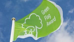 Green Flag Award for The Mall in Longford town