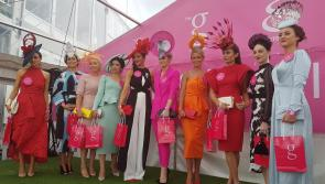 Stylish Longford ladies sparkle at Galway Races