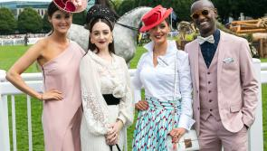 Glitz and Glamour: Longford lady steps out in style at the Dublin Horse Show