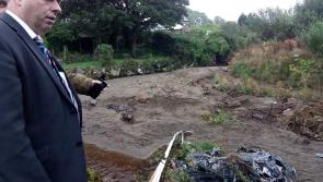 Boxer in Donegal to witness devastation of flooding