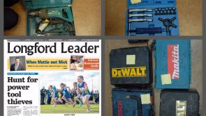 Does anybody in Longford own any of these stolen tools seized by Gardaí?